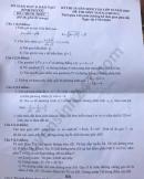 Đáp án đề thi môn Toán vào lớp 10 tỉnh Bình Phước năm 2020