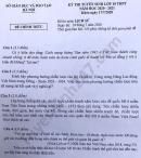 Đáp án đề thi vào lớp 10 môn Sử trường chuyên Hà Nội năm 2020