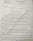 Đáp án đề thi vào lớp 10 môn Văn - Phú Thọ 2020