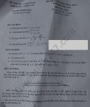 Đáp án đề thi vào lớp 10 môn Toán tỉnh Vũng Tàu năm 2020