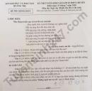 Đáp án đề thi vào lớp 10 môn Văn THPT chuyên Quảng Trị 2020