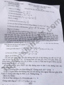 Đáp án đề thi vào lớp 10 năm 2020 môn Toán tỉnh Đồng Nai