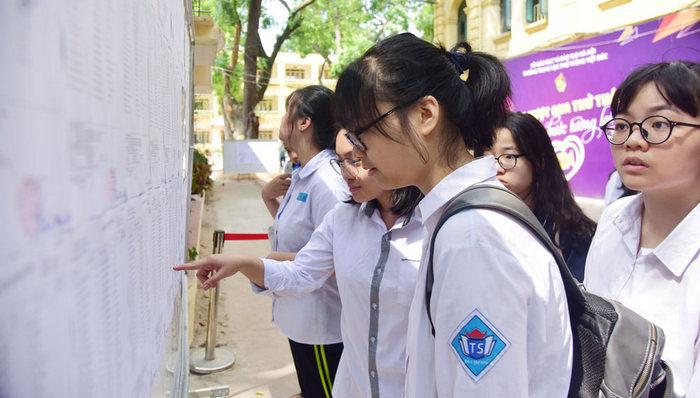 Hà Nội công bố điểm thi vào lớp 10 năm 2020