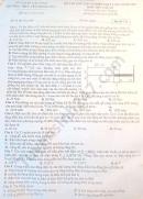 Đề thi thử Tốt nghiệp THPT môn Lý THPT Yên Phong số 1 lần 3 2020