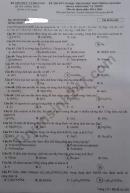 Đáp án đề thi môn Hóa mã đề 202 thi tốt nghiệp THPT 2020