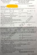 Đáp án đề thi tốt nghiệp THPT năm 2020 môn Lý mã đề 219