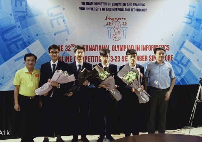 Việt Nam giành Huy chương Vàng Olympic Tin học quốc tế (IOI)