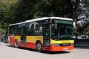 Xe buýt đi qua trường Đại học Công nghiệp Việt Hung