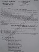 Đề kiểm tra giữa HK1 môn Văn lớp 12 - Trường THPT Tân Bình 2020