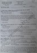 Đề kiểm tra HK1 môn GDCD lớp 12 Trường THPT Tân Bình 2020