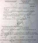 Đề kiểm tra giữa học kì 1 môn Toán lớp 12 THPT Nguyễn Khuyến 2020