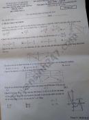 Đề kiểm tra giữa HK1 môn Toán lớp 12 THPT Phước Kiển 2020