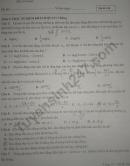 Đề kiểm tra giữa HK1 lớp 12 môn Lý - THPT Đức Hợp 2020