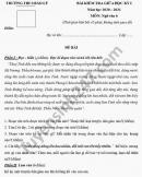 Đề kiểm tra giữa HK1 năm 2020 THCS Bảo Lý môn Văn lớp 6
