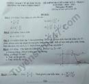 Đề kiểm tra giữa HK1 môn Toán lớp 7 TH-THCS Tịnh Thiện 2020