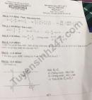 Đề kiểm tra giữa kì 1 môn Toán lớp 7 năm 2020 - THCS Phường 2
