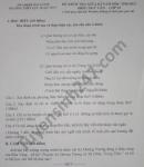 Đề kiểm tra giữa HK1 năm 2020 THPT Lục Ngạn số 4 Văn lớp 10
