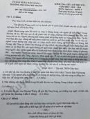 Đề kiểm tra giữa HK1 năm 2020 môn Văn lớp 9 THCS Hai Bà Trưng