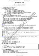 Đề cương ôn tập HK1 môn Tóan lớp 12 THPT Thanh Khê 2020