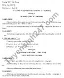 Đề cương ôn tập HK1 năm 2020 môn Sử THPT Đức Trọng lớp 12