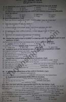 Đề thi học kì 1 lớp 10 môn Anh THPT Lương Văn Can 2020