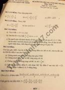 Đề thi học kì 1 THCS Phan Chu Trinh năm 2020 lớp 7 môn Toán