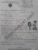 Đề thi học kì 1 môn Toán lớp 7 THCS Nguyễn Công Trứ năm 2020