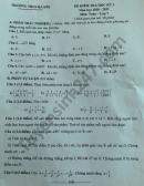 Đề thi học kì 1 môn Toán lớp 7 năm 2020 THCS Hà Hồi