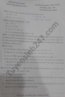Đề thi học kì 1 năm 2020 THCS Hoàng Hoa Thám Toán lớp 6
