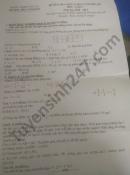 Đề thi học kì 1 môn Toán lớp 7 THCS Ninh Hải năm 2020