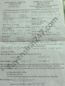Đề thi học kì 1 năm 2020 huyện Vạn Ninh môn Toán lớp 7