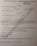 Đề thi học kì 1 năm 2020 môn Toán lớp 7 THCS Nguyễn Lân