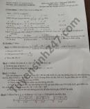 Đề thi học kì 1 năm 2020 môn Toán lớp 9 THCS Nguyễn Nghiêm