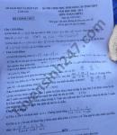 Đề thi chọn học sinh giỏi cấp tỉnh THPT môn Toán tỉnh Lào Cai 2021
