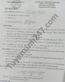 Đề thi chọn học sinh giỏi cấp huyện 2021 Toán lớp 9 huyện Krông Ana