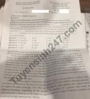 Đề KSCL tháng 1 môn Anh lớp 9 năm 2021 THCS Đô Thị Việt Hưng