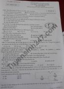 Đề thi thử vào lớp 10 THPT môn Tổ hợp năm 2021 tỉnh Ninh Bình lần 1