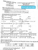 Đề thi giữa kì 2 lớp 7 môn Toán 2021 - Xuân Trường