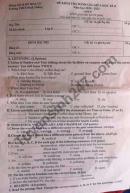 Đề thi giữa kì 2 lớp 8 môn Anh năm 2021 - THCS Ninh Thắng