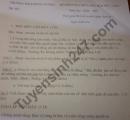 Đề thi giữa kì 2 môn Văn lớp 7 THCS Hùng Vương 2021