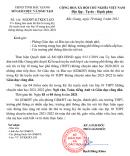 Bắc Giang công bố môn thi thứ tư vào lớp 10 năm 2021