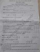 Đề thi giữa kì 2 lớp 6 môn Toán - THCS Nghiêm Xuân