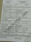 Đề thi KSCL lớp 9 năm 2021 môn Tổng hợp - Sở GD Hưng Yên