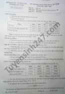Đề thi học sinh giỏi cấp tỉnh lớp 9 tỉnh Quảng Nam môn Địa năm 2021