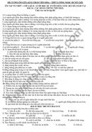 Đề cương học kì 2 môn Sinh lớp 12 THPT Lương Ngọc Quyến 2021