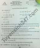 Đề thi học kì 2 môn Toán lớp 6 - Archimedes school 2021