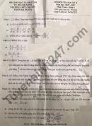 Đề thi học kì 2 môn Toán lớp 6 năm 2021 - THPT Chuyên Trần Đại Nghĩa