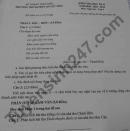 Đề thi học kì 2 môn Văn lớp 9 - THCS&THPT Quyết Tiến 2021
