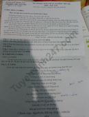 Đề thi kì 2 môn Văn lớp 10 THPT Tân Phú 2021