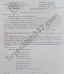 Đề thi học kì 2 huyện Kon Rây năm 2021 môn Văn lớp 9